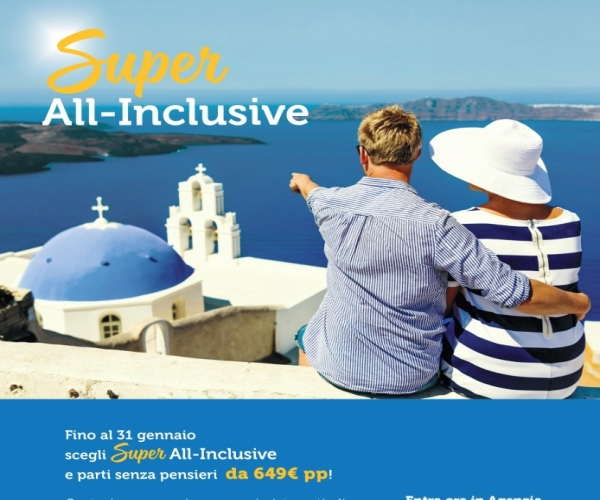 SUPER ALL-INCLUSIVE COSTA CROCIERE -